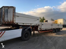 used Trax heavy equipment transport semi-trailer