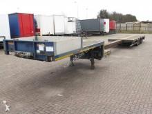 used Nooteboom heavy equipment transport semi-trailer