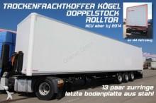 new Kögel box semi-trailer