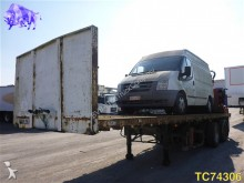 used Acerbi flatbed semi-trailer