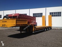 used Galucho heavy equipment transport semi-trailer