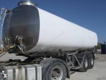 Magyar ALIMENTAIRE inox calorifugé25800L semi-trailer