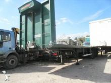 used Trouillet flatbed semi-trailer