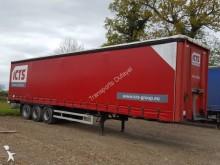 used LAG tautliner semi-trailer
