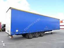 Krone Mega, Hubdach, Schiebedach, Scheibebremsen, BPW semi-trailer