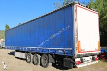used Schmitz Cargobull dropside flatbed tarp semi-trailer