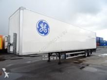 Groenewegen Box, hardhouten vloer, BPW, trommel, i.z.g.s. semi-trailer