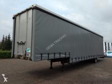 used Floor heavy equipment transport semi-trailer