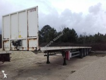 used Samro flatbed semi-trailer