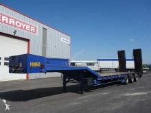 used ACTM heavy equipment transport semi-trailer