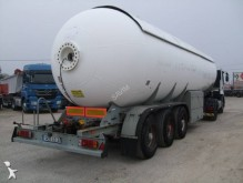 used Robine gas tanker semi-trailer
