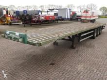 used Groenewegen flatbed semi-trailer