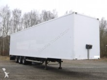 used Samro box semi-trailer