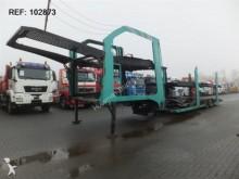 used Lohr car carrier semi-trailer
