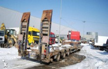 used Faymonville flatbed semi-trailer