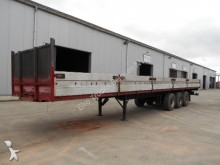 used Carnehl flatbed semi-trailer