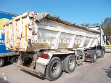 used Metaco construction dump semi-trailer