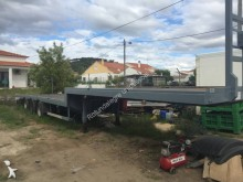 used Samro straw carrier flatbed semi-trailer