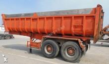 used half-pipe semi-trailer