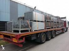used Van Hool flatbed semi-trailer