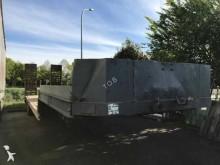 used Fruehauf heavy equipment transport semi-trailer