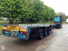 used Broshuis flatbed semi-trailer