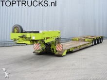 used Scheuerle heavy equipment transport semi-trailer