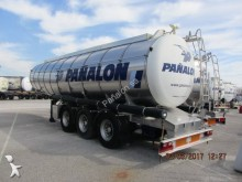 used Indox chemical tanker semi-trailer