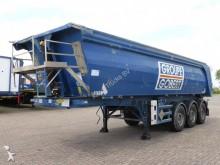 damaged Stas tipper semi-trailer