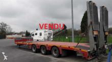 used MAX Trailer heavy equipment transport semi-trailer