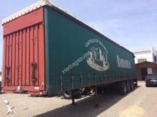 used Lecitrailer tarp semi-trailer