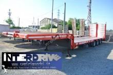 Bertoja semirimorchio carrellone ribassato rampe idrauliche usato semi-trailer
