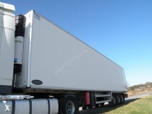 used Aubineau mono temperature refrigerated semi-trailer