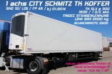 Schmitz Cargobull SKO 10/ CITY / TK SLXe 300/ TRIDEC / LBW /BLUMEN semi-trailer
