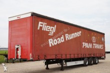 used Fliegl tautliner semi-trailer