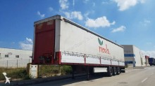 used Prim-Ball sliding tarp system tarp semi-trailer
