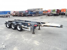 Van Hool ADR, 20FT, BPW, Liftachse, ALCOA semi-trailer