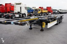 used Wielton container semi-trailer