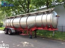 Coder Food RVS, 4 Compartments, Steel suspension foo semi-trailer