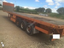 used ACTM flatbed semi-trailer