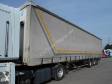 used Fruehauf tarp semi-trailer