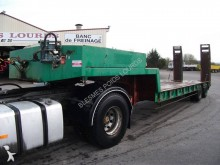 used Cazenave heavy equipment transport semi-trailer