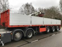 Pacton Steentrailer met Kennis R-11 kraan semi-trailer