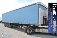 used Schwarzmüller dropside flatbed tarp semi-trailer