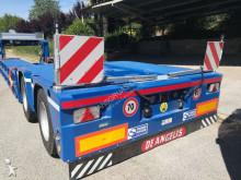used De Angelis flatbed semi-trailer