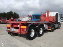 Asca ENSEMBLE BI-TRAIN TIREUSE + SUIVEUSE 20 PIEDS BENNABLE semi-trailer