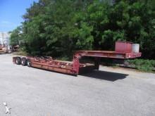 used Bertoja heavy equipment transport semi-trailer