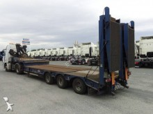 Castera Porte-engin 3 essieux Extensible semi-trailer