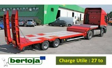Bertoja PORTE ENGINS 2 Essieux semi-trailer