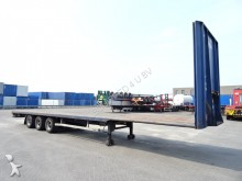 used LAG flatbed semi-trailer